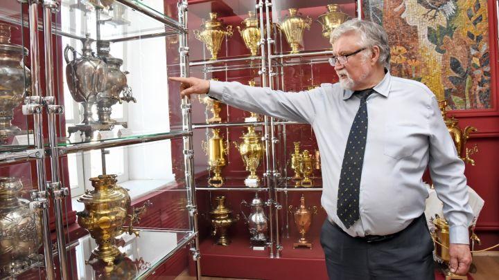 Воронежец собрал коллекцию из 500 самоваров. Посмотреть на них можно здесь!